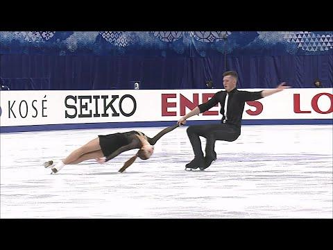 Короткая программа. Пары. NHK Trophy. Гран-при по фигурному катанию 2019/20