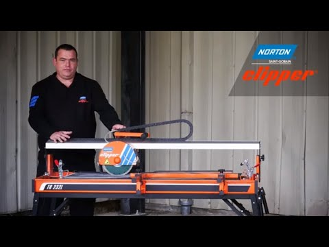 Norton Clipper TR232L Tile Saw