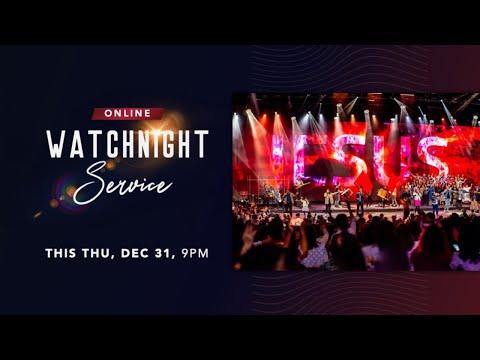 Trinity Christian Centre - 9pm (SGT) Watchnight Service