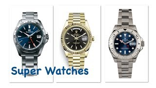Actually Wearing Watches - Rolex and Grand Seiko
