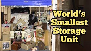 WORLDS SMALLEST STORAGE UNIT / I Bought Abandoned Storage Unit Locker / Opening Mystery Boxes