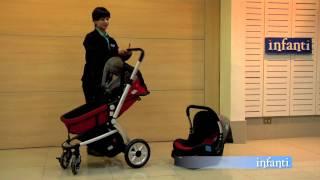 e44c401d8 Cochecito Infanti Epic GB01 Travel System - YouTube