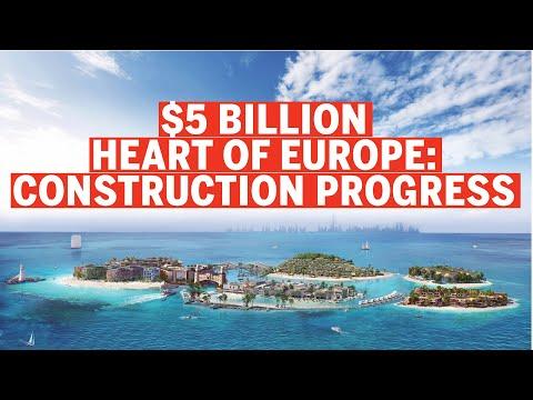 Project update: Dubai's $5billion Heart of Europe Project