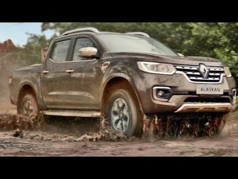 2017 Renault ALASKAN Pickup Truck - Official Video