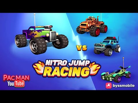Nitro Jump Racing Gameplay Walkthrough #2 Trophy Race