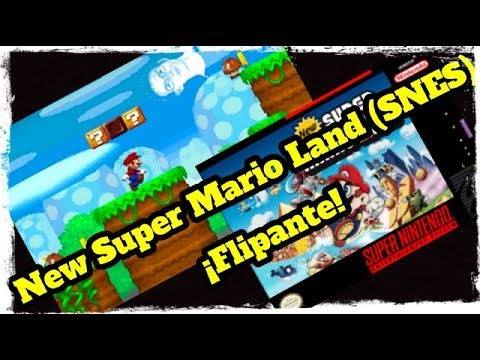 Canal Homebrew: New Super Mario Land (SNES)