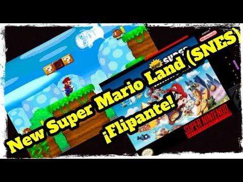 Canal Homebrew: New Super Mario Land (SNES)