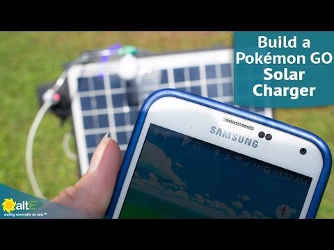 We show you how to make a fun, inexpensive DIY solar project using a 10W solar panel. We made a solar charger for your phone to let you wonder for hours playing Pokémon GO without worrying about running out of power. You can wire the solar panel to a cigar