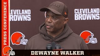DeWayne Walker:  It's about evaluating and getting better everyday | Cleveland Browns