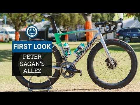 Peter Sagan's Alloy Specialized Allez Race Bike | World Exclusive First Look