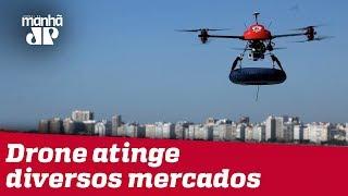 Drone já é uma realidade e pode até salvar vidas