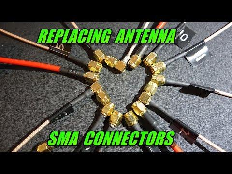 Replacing Antenna SMA Connectors (multirotor FPV) - UCObMtTKitupRxbYHLlwHE3w