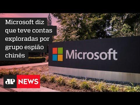 EUA e união de países acusam a China de ataques cibernéticos contra a Microsoft