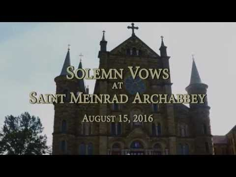 Solemn Vows - August 15, 2016