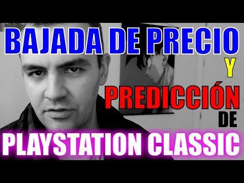 BAJADA DE PRECIO DE PLAYSTATION CLASSIC Y PREDICCIÓN DE FUTURO