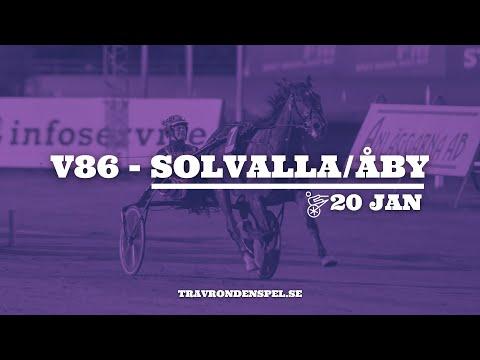 V86 tips Solvalla/Åby | 20 januari 2021