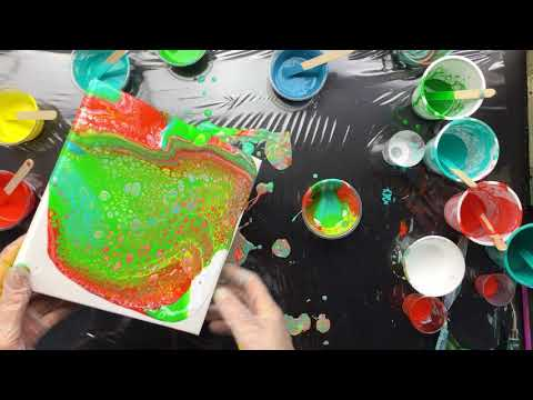 ( 520 ) Vallejo fluid Floetrol and silicone ( mixing )