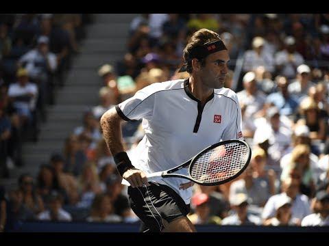 الأسطورة السويسرية روجيه فيدرر بسهولة إلى رابع أدوار بطولة الولايات المتحدة المفتوحة للتنس