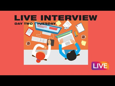Internship Live Stream  Day Two