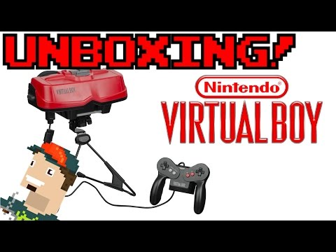 Nintendo Virtual Boy UNBOXING!!