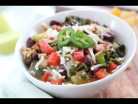 Clean Eating Turkey And Veggie Chili Recipe Video - UCj0V0aG4LcdHmdPJ7aTtSCQ