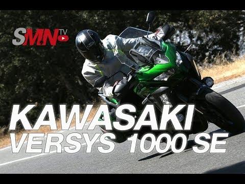 Prueba Kawasaki Versys 1000 SE 2019 [FULLHD]