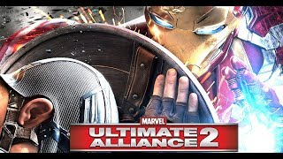 Marvel Ultimate Alliance 2 All Endings  Nick Fury Final Boss Fight Side with Captain America Iron Ma