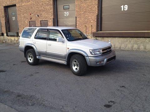 1999 JDM RHD Toyota Hilux Surf SSR-G 4WD RSMC in Toronto Canada, SOLD