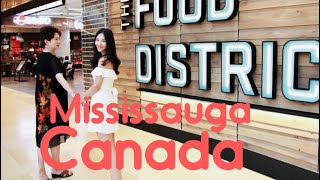 Food District Square One Shopping centre Mississauga Canada