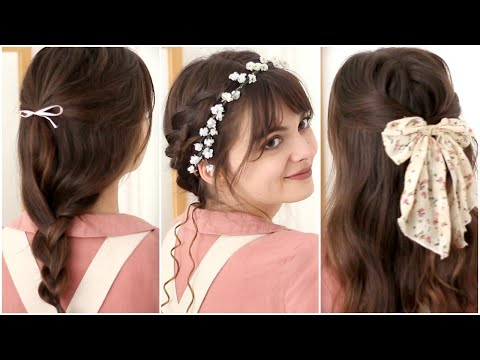 Your Cottagecore Hair Encyclopedia 🌼 15 Cute Hairstyles