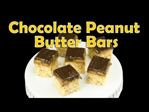 Chocolate Peanut Butter Bars: No Bake from Cookies Cupcakes and Cardio - UCg-YSRB6TsIq-c5PUZ0F1Jg