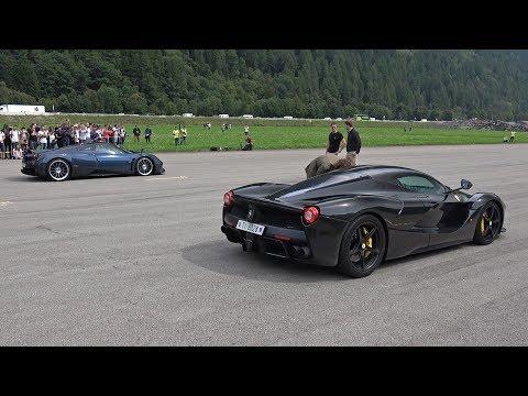 Ferrari LaFerrari vs Pagani Huayra Roadster vs Koenigsegg Agera R