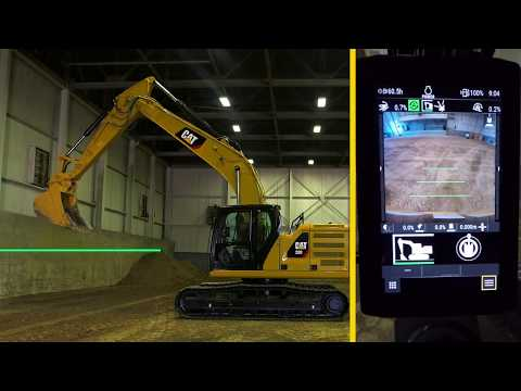 Förarinstruktioner, Cat 320 Next Generation: E-fence Floor