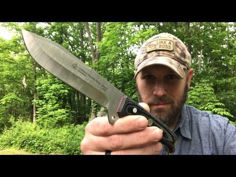 First Time I've Tried One: Puma Outdoor Micarta - Camp, Hunting, Woods Knife from German Knife Shop