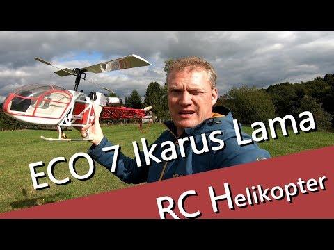 ECO 7 Ikarus Lama - SB 315 - schöner Scale Helikopter - UCNWVhopT5VjgRdDspxW2IYQ