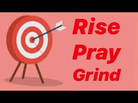 Pray Rise Grind