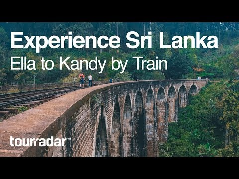 Experience Sri Lanka: Ella to Kandy by Train