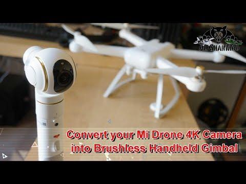 FIMI X1BH Xiaomi Mi Drone 4K RC Quadcopter Brushless Handheld Gimbal - UCsFctXdFnbeoKpLefdEloEQ