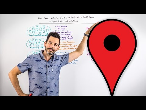 Why Every Website Should Invest in Local Links and Citations - Whiteboard Friday