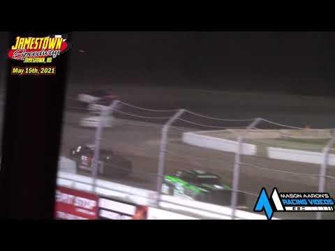 Jamestown Speedway WISSOTA Street Stock A-Main (5/15/21) - dirt track racing video image