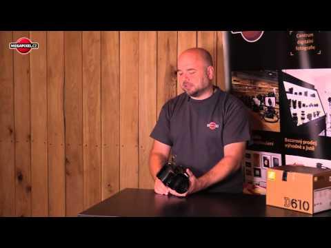 Videorecenze Nikon D610 tělo