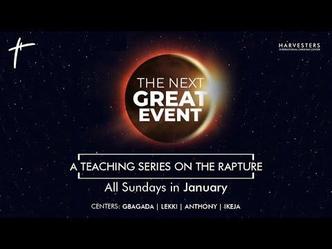 The Next Great Event: Pst Bolaji  Idowu 10th January 2021
