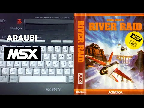 River Raid (Activision, 1984) MSX [796] Walkthrough Comentado