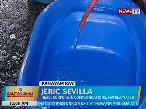 BT: Panayam kay Jeric Sevilla, Head, Corporate Communication, Manila Water