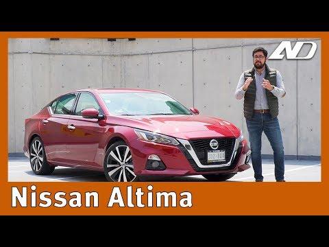 Nissan Altima - Un gran auto para los que se resisten a las SUV