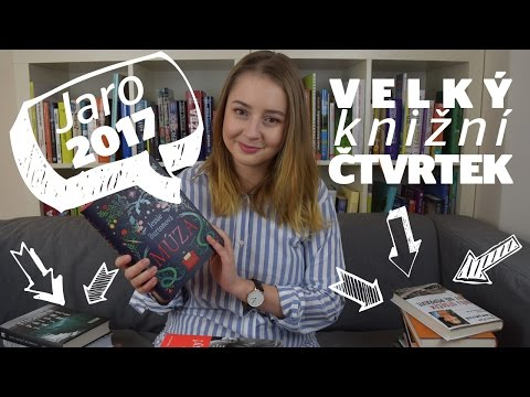 Jarní Velký knižní čtvrtek 2017: Thrillery, biografie i Krkonoše