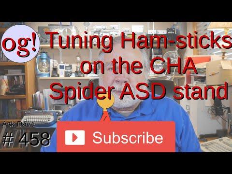 Tuning Ham-sticks on the CHA-Spider-ASD stand (#458)