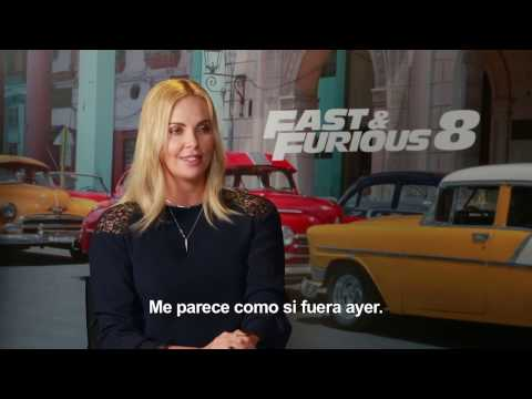 FAST & FURIOUS 8 ? Entrevista a Charlize Theron HD