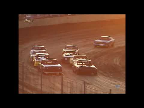 Full race from the Factory Stock division at Hartford Speedway Park in MI May 3, 2002. - dirt track racing video image