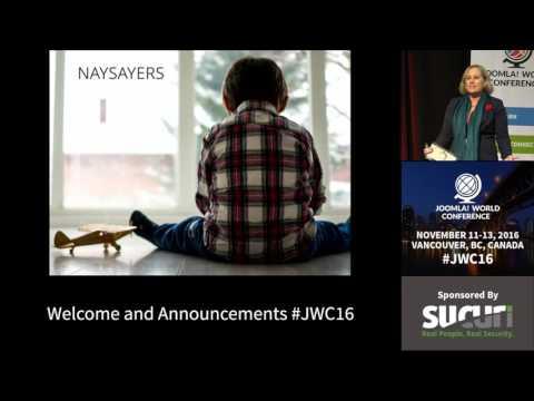 JWC 2016 - Welcome - Sarah Watz